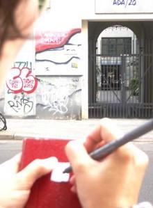 Briefmarkenzeichnen, Dokumentation, Berlin 2011