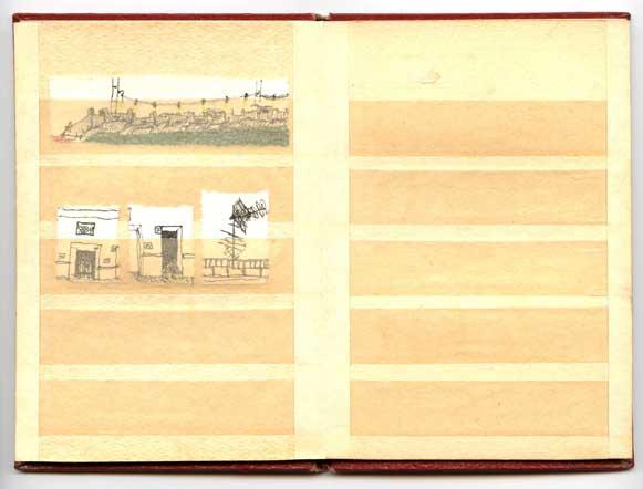 Briefmarkenalbum, Zweite Seite - Berlin, 201