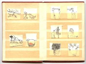 Briefmarkenalbum, Zweite Seite - Bretagne