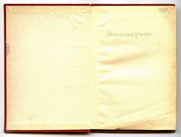 Briefmarkenalbum Vorblatt