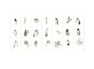 Drucksachen # 16, 2012, Siebdruck und Laserdruck auf Papier, Blattmaße 29,7 x 40