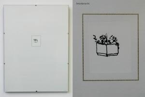 Kübel, 2012, Siebdruck und Laserdruck auf Papier im Bildhalter, 40 x 30 cm, Auflage 54 Ex.